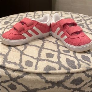 Pink Adidas Toddler Shoes
